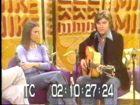 KATE JACKSON and EDWARD ALBERT Jr at the MIKE DOUGLAS SHOW 1974