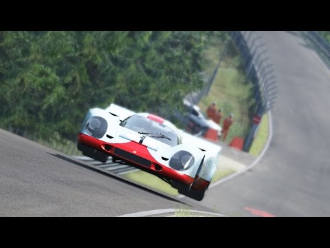 Lap around Nordschleife Porsche 917 K in Assetto Corsa