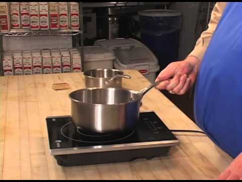 Using A Fagor Portable Induction Cooktop