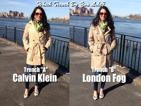 How to choose the perfect Trench Coat; What to look for when shopping for a Trench
