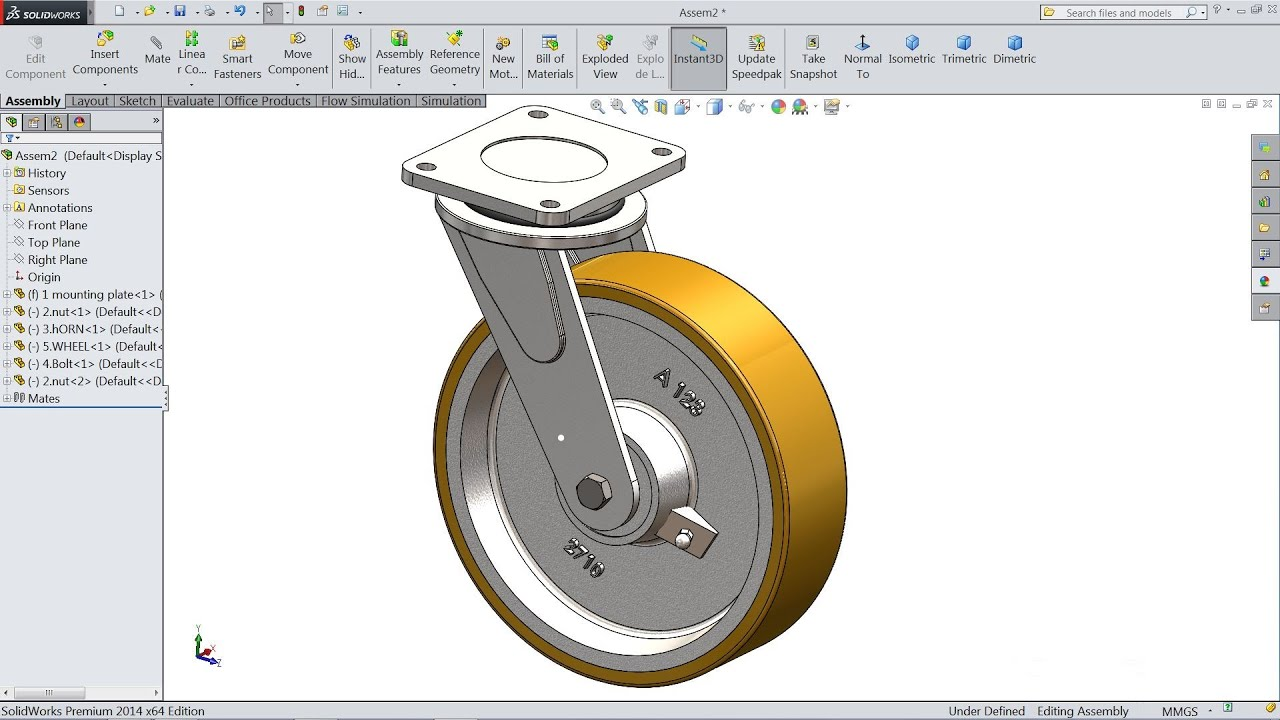 Maxresdefault on Solidworks Exploded View Drawing