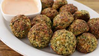 Baked Broccoli Cheese Balls Recipe
