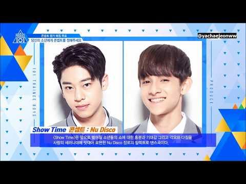 [ENG SUB] PRODUCE101 Season 2 Concept Songs Preview lyrics