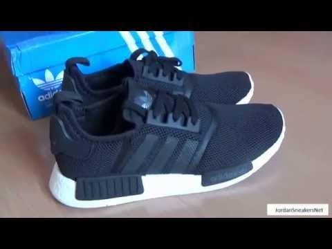 Cheap Adidas NMD R1 Runner Boost Nomad Women's Ba7751 Black