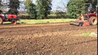 Cultivating, preparing and seeding at The Norfolk Hospice (2)