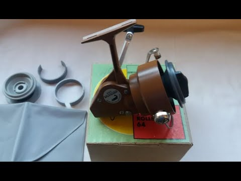RESTORATION FISHING REEL EAST GERMAN
