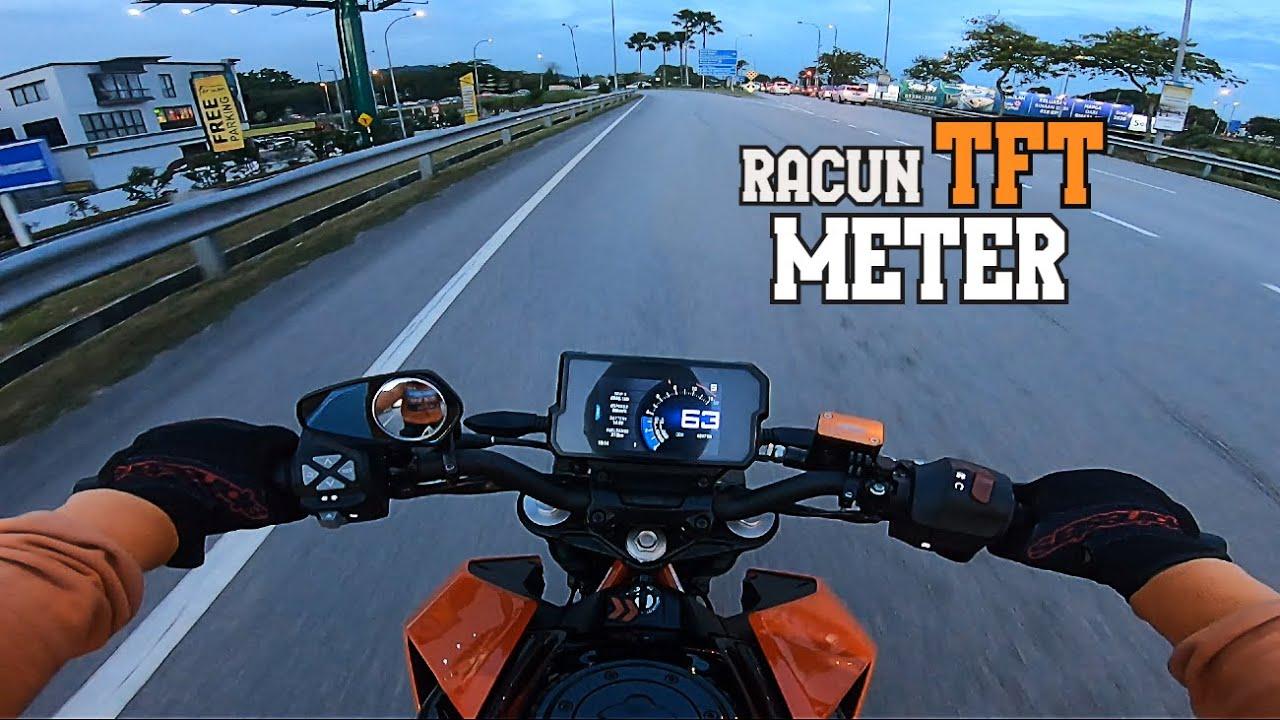 KTM DUKE 390RACUN TFT METER , SIANG MEREWANG MALAM MEMBAWANG