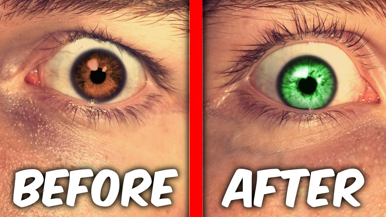 How can I change the color of my eyes without lenses