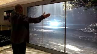 Jaguar display at the L.A. auto show down town L.A. Dec 2018