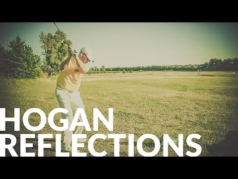 HOGAN REFLECTIONS - DIAGONAL STANCE- Wisdom In Golf - Shawn Clement