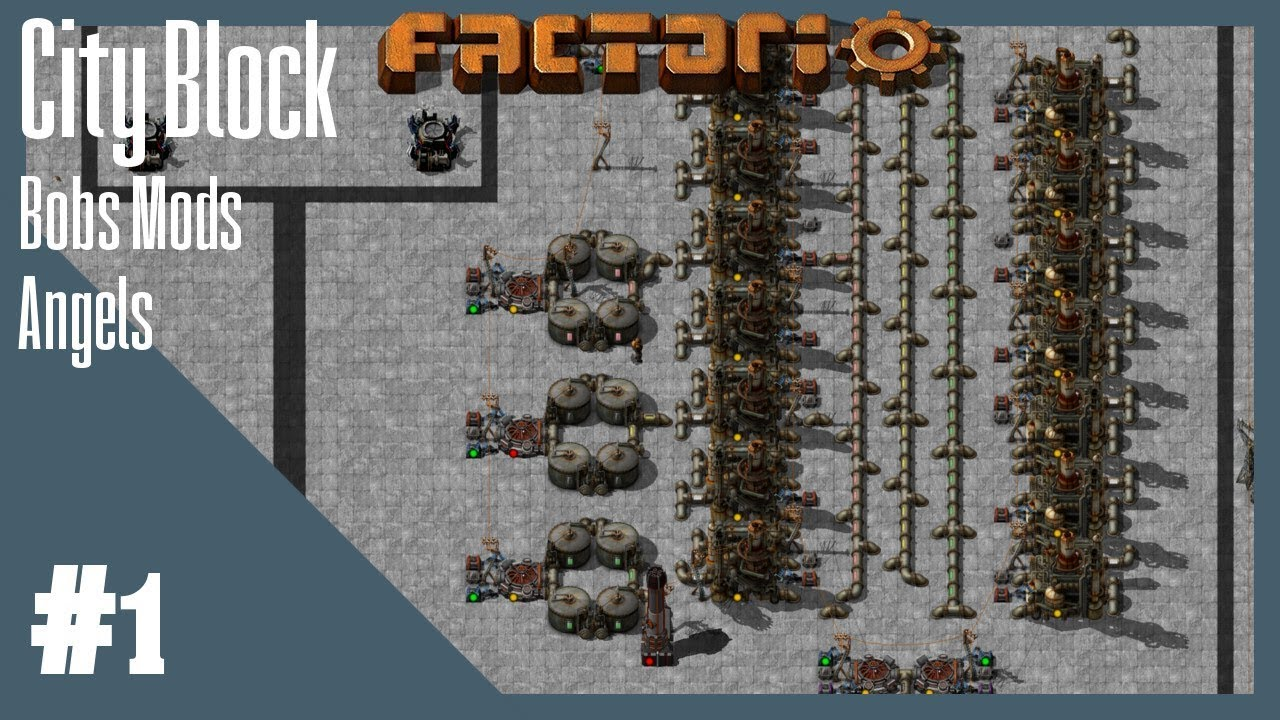 Factorio - City Block - Episode 1 - Getting research started