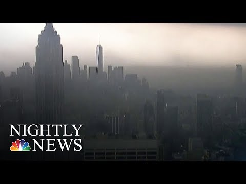 Severe Weather Causes Rush Hour Chaos Along The East Coast | NBC Nightly News