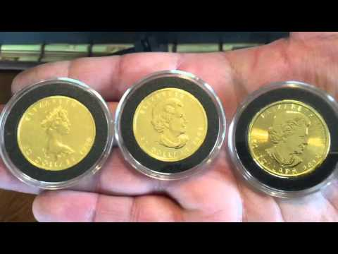 Bullion Stack Update - 1 oz Gold, melting molds and a safe