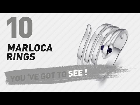 Marloca Rings Top 10 Collection // UK New & Popular 2017