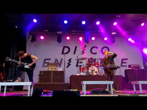 Disco Ensemble - Bad Luck Charm - Live @ Jurassic Rock 4.8.2017