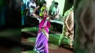 Telangana dance by girl