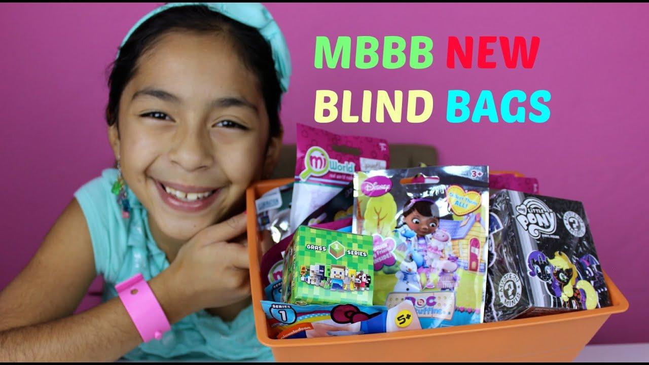 Monday Blind Bag Bin Minecraft Hello Kitty My Little Pony