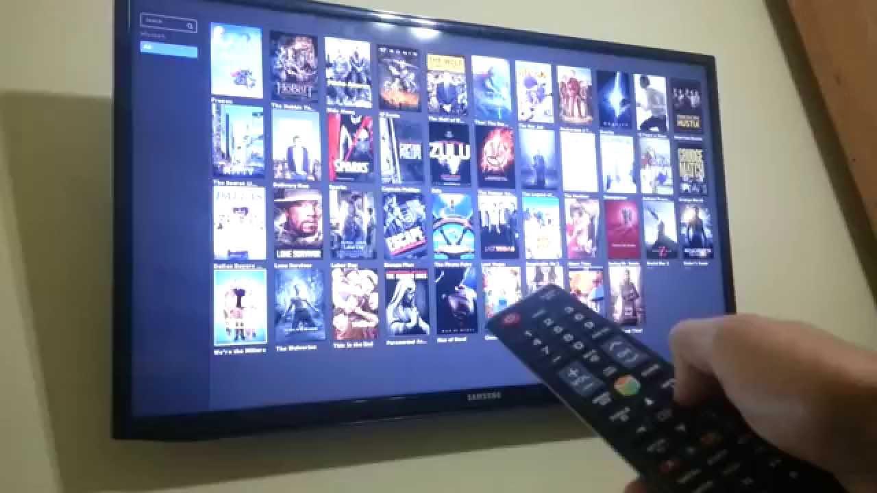 Como Poner Subtitulos A Popcorn Time Popcorn Time Running On Samsung Smart Tv 2012 Youtube