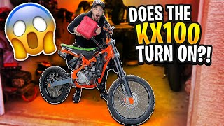 starting-the-kx100-after-1-year-braap-vlogs