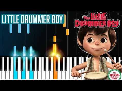 """Little Drummer Boy"" Piano Tutorial - Chords - How To Play - Cover"