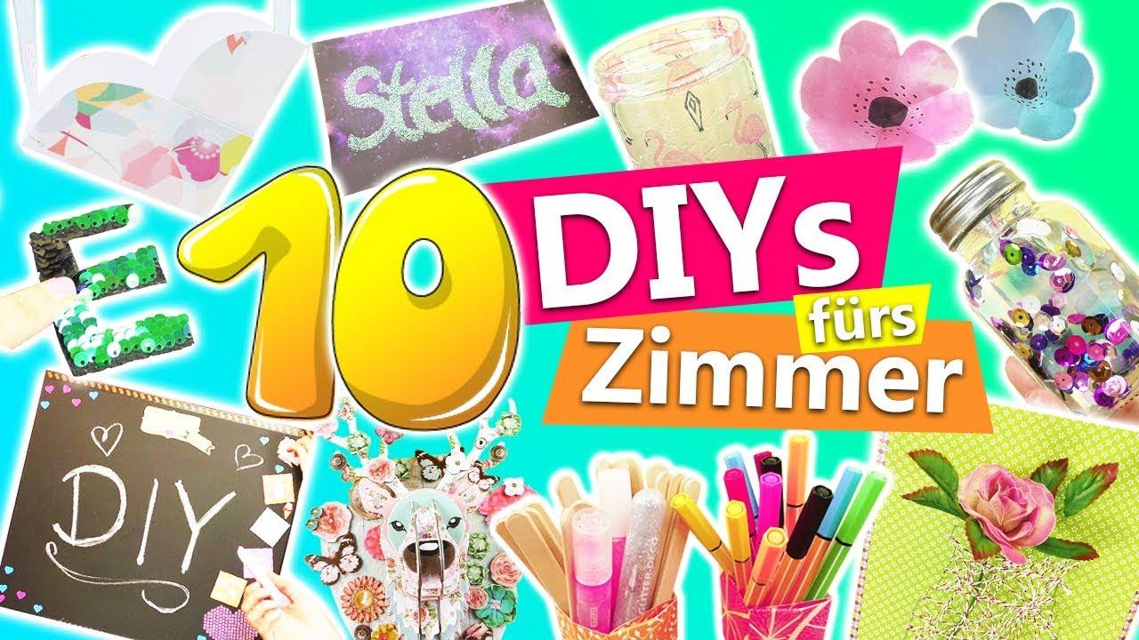 10 Kreative Diy Deko Ideen Fürs Zimmer Tolle Zimmerdekoration Zum Selber Machen Diy Kids