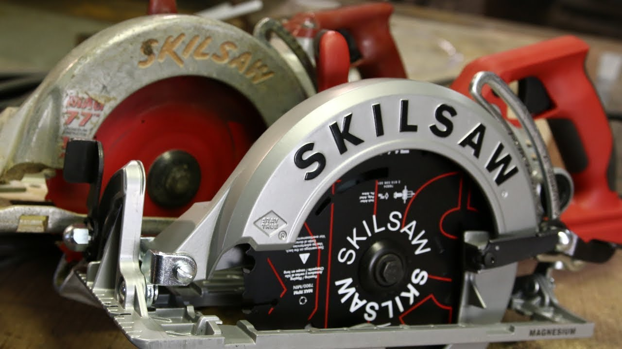 New Skilsaw Mag77 Worm Drive Fixing What Isnt Broken Youtube Wiring Diagram For Craftsman Circular Saw Essential