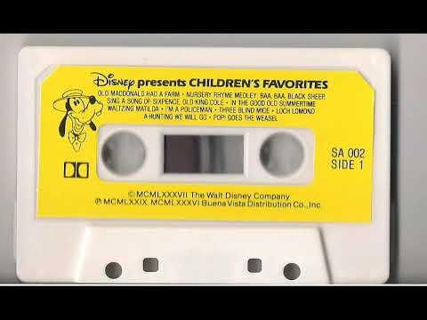 Disney Children's Favorites Cassette Tape