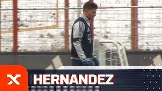 Comeback! Lucas Hernandez zurück im Team-Training des FC Bayern | FC Bayern München | SPOX