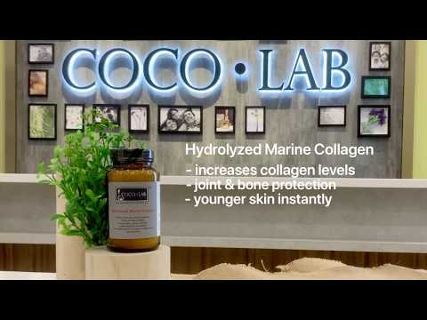 COCOLAB Hydrolyzed Marine Collagen - for younger skin and joint health