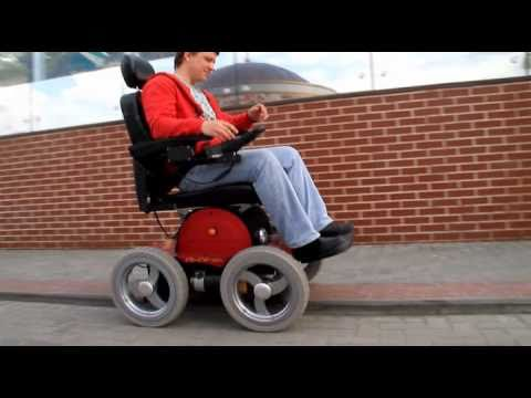 Observer Maximus  All terrain wheelchair
