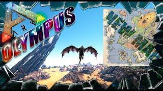ARK: Survival Evolved карта Olympus (моды в Арк Сурвайвал)