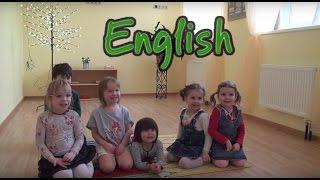 Английский для детей ВИДЕО / Уроки английского языка в детском саду Mini Bambini