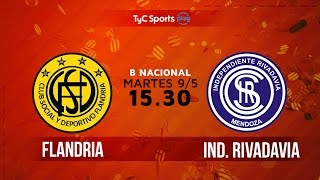 Flandria vs Independiente Rivadavia full match