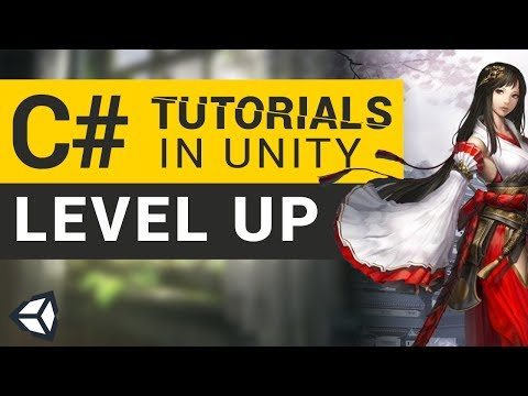 Player Level Up | C# Tutorials in Unity