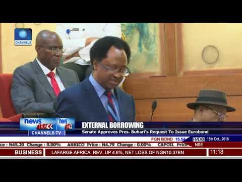 Senate Approves President Buhari's Request To Issue Eurobond