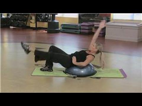 abdominal exercises  bosu abdominal exercises  youtube