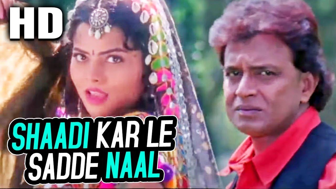 शादी कर ले साड्डे नाल | Shaadi Kar Le Sadde Naal | Poornima, Abhijeet |Jwalamukhi 2000 Songs| Mithun