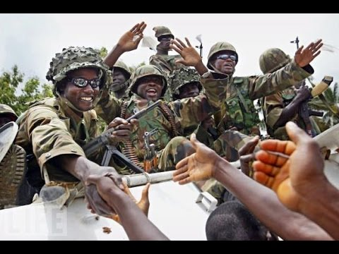 ECOMIG MILITARY FORCES IN THE HEART OF THE GAMBIA