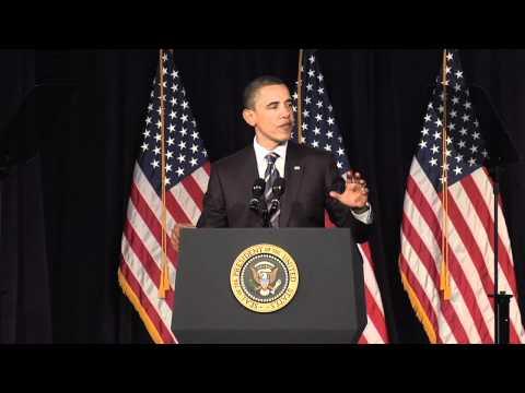 President Barack Obama Addresses Deficit Reduction at The George Washington University