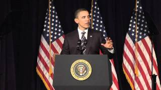 President Barack Obama Addresses Deficit Reduction at The George Washington University
