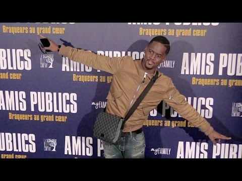 Black M,  Lea Salame and more at the Amis Publics Premiere in Paris