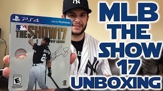 MLB The Show '17 MVP Edition Steelbook Unboxing