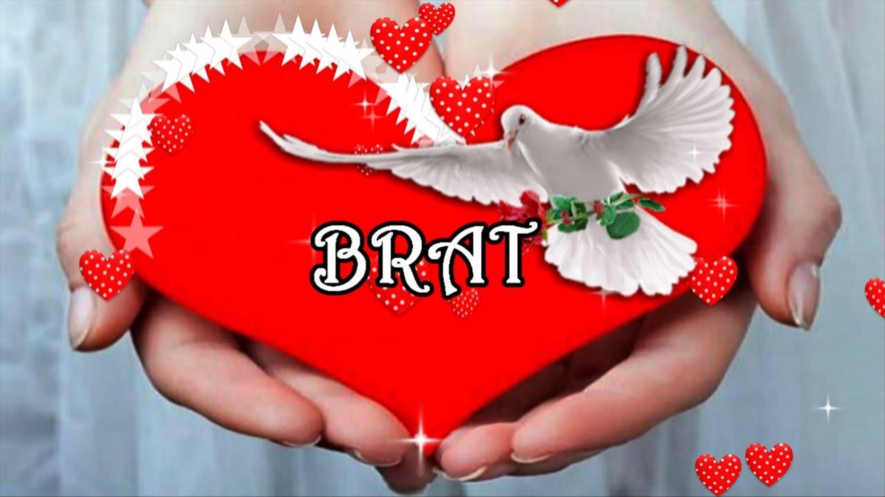 čestitke za rođendan za brata BRAT   YouTube čestitke za rođendan za brata