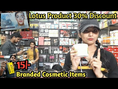 Branded cosmetic items|| Lotus products 30% discount|| Wholesale and Retail cosmetic items||