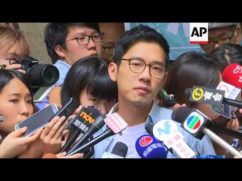 Hong Kong activist Nathan Law freed on bail, pending appeal