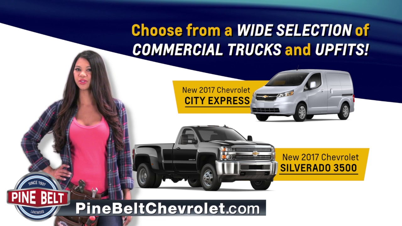 Perfect Pine Belt Chevrolet Commercial Trucks