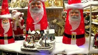 видео Новогоднее оформление интерьера магазина
