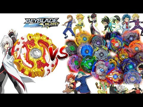 SPRYZEN REQUIEM S3 VS ALL SWITCHSTRIKE BEYS BEYBLADE BATTLES BEYBLADE BURST EVOLUTION