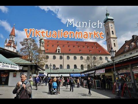 [เที่ยวยุโรป] Exploring around Viktuarienmarkt, Munich : Germany Travel Vlog Ep61
