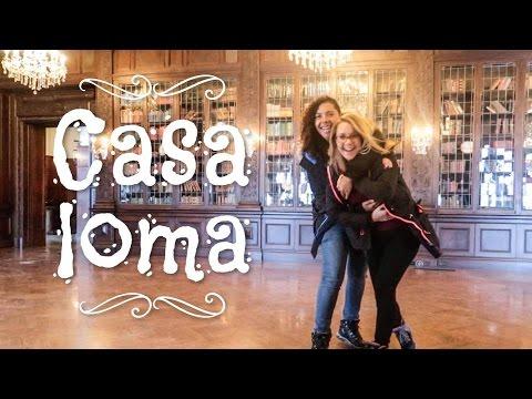 TORONTO - CASA LOMA / 'BEAUTY & THE BEAST' CASTLE 🐺🌹
